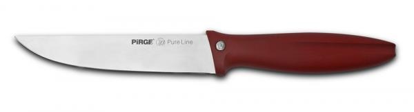 Нож за месо 18cm ЧЕРВЕН- PURE LINE