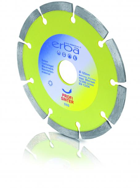 Диамантен диск за бетон 115mm Erba