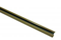 Корниз U-образна шина 110 см беж