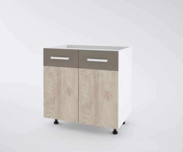Urban долен шкаф с две врати 80см, лате