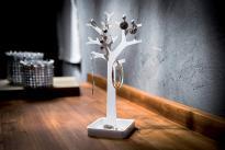 Органайзер за бижута MY PRETTY бяло дърво