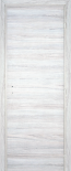 Врата Дъб Снежен 90Х200 КАСА 10см дясна