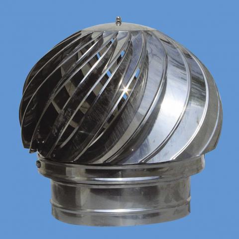 Въртяща шапка Ф200 инокс