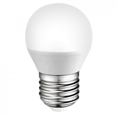 LED крушка E27 7W P45 мат 6500K