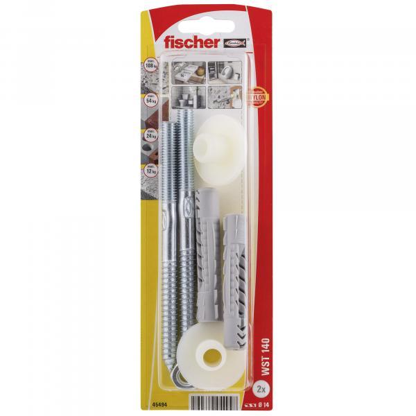 Комплект за закрепване на мивка Fischer WST140K