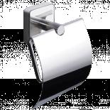 Държач за тоалетна хартия с капак QUATTRO