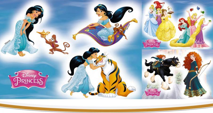 Стикер за стена Disney 35x50 см