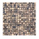 Каменна мозайка кафяв
