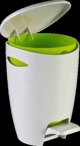 Кош за отпадъци, зелен