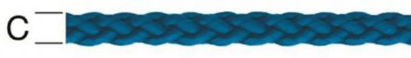 РР-Шнур синьо кръгъл 6мм