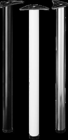 Мебелен крак 710 мм бял