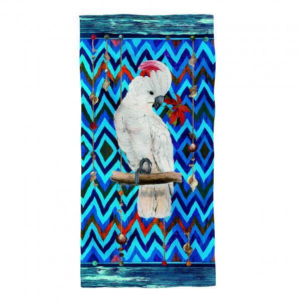 Плажна кърпа- Parrot