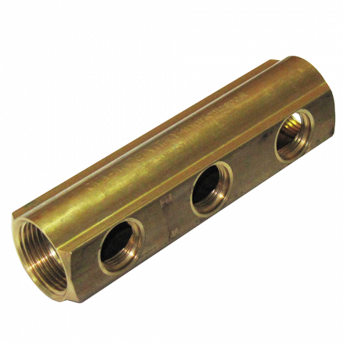 Колектор 50 мм Ж1/2'' 1''х3 л