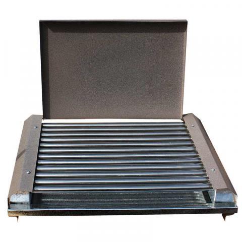 Електрическа скара с капак RUBINO 1600 W 2