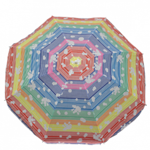 Плажен чадър ф180см 4