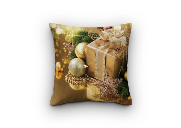 Деко Коледна възглавница дизайн 5