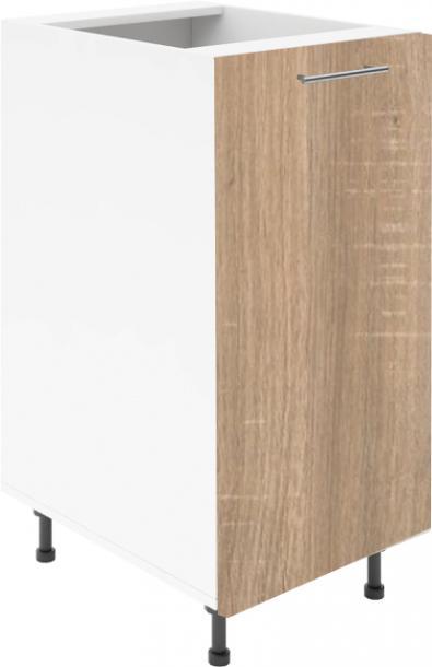 Крафт D1 долен шкаф с една врата 45см, дъб сонома