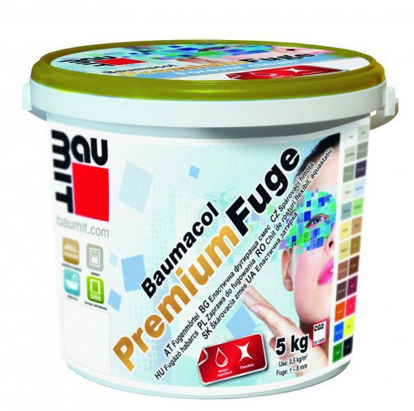 Фугираща смес Баумакол Премиум бял 5 кг кофа