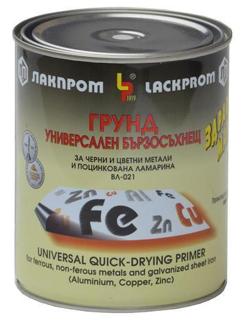 Грунд ВЛ-021 за цветни метали черен