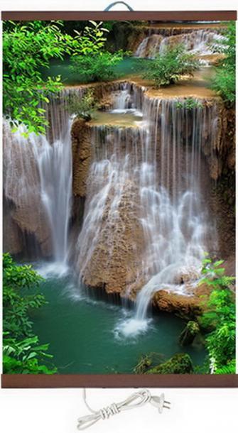 Картина с ИЧ- нагревател IRT Водопад