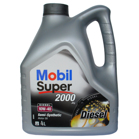 Мот.масло дизел Mobil 10W40 4л