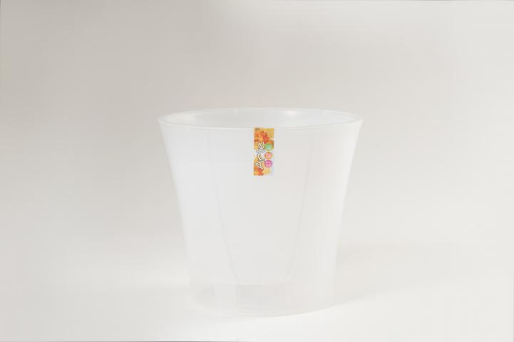 Комплект саксия Арте и субтрат за орхидеи 1л