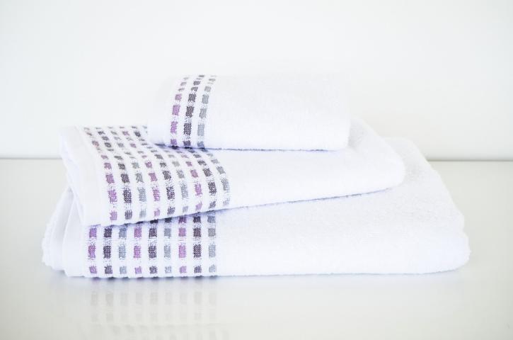 Хавлиена кърпа Юнона 50х80 см - бяла