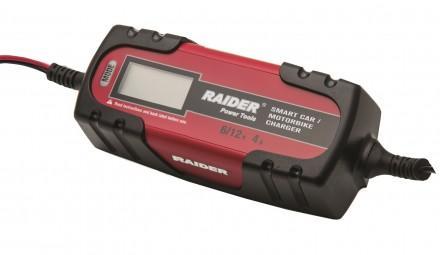 Зарядно за акумулатор Raider RD-BC13 6/12V