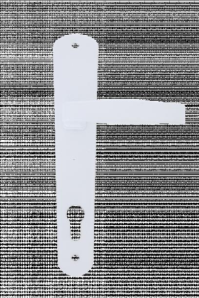 Дръжка Класико секретна 90 бяла блистер