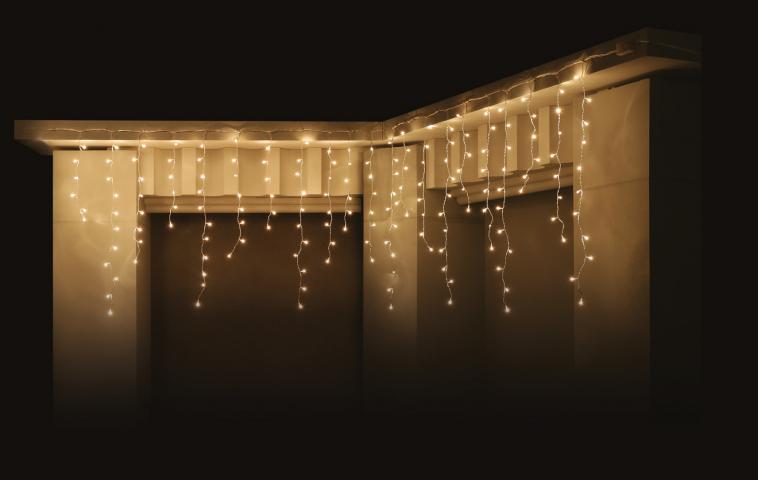 Светеща завеса 'Висулка'