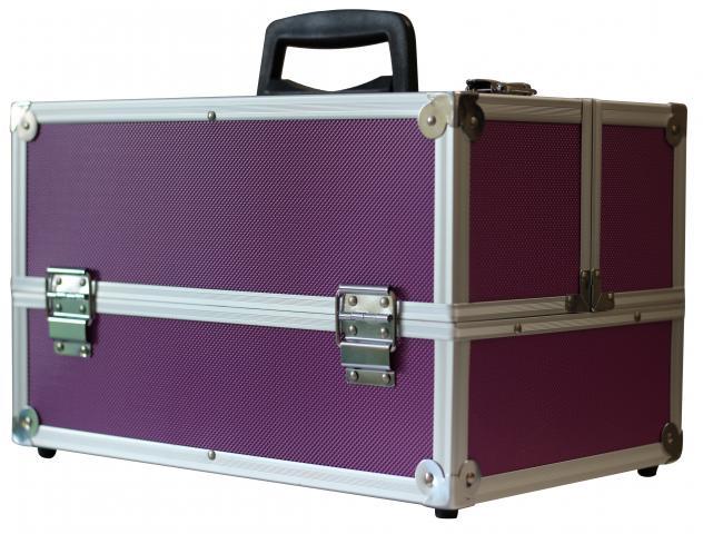 Куфар алуминиев лилав