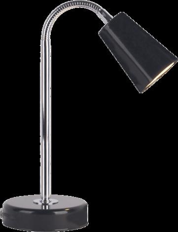 Настолна лампа Нели черна