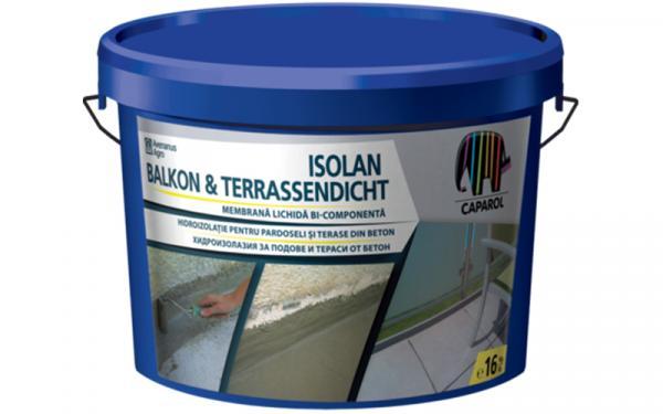 Еднокомпонентна хидроизолация Isolan Balkon & Terrassendicht 16кг