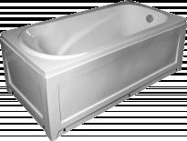 Правоъгълна акрилна вана