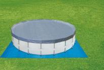 Подложка 2.69х2.69м. за басейн с диам. 2.44м.