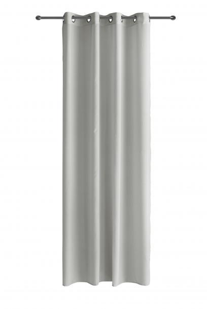 Готово перде CHIFFON 140x250 см сив