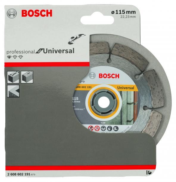 Диамантен диск Bosch Universal 115mm
