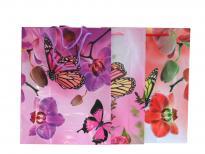Плик за подаръци Цветя 31.5х39.5х9 см