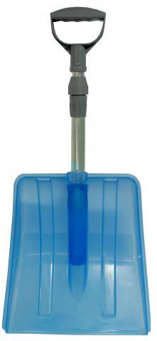 Лопата за сняг Yeti телескопична синя