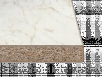 Работен плот C-профил мрамор