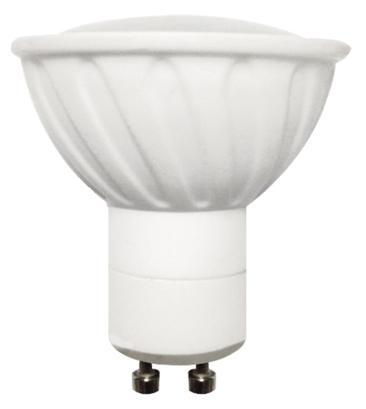 LED крушка 5W 220V GU10 4000K Ceramic