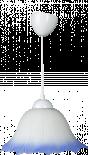 Пендел Е27 Ф28 бял/син