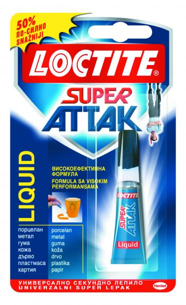 Лепило Loctite Super Attak  3 гр
