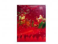 Плик за подаръци Коледа 39х31х9 см
