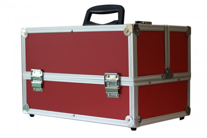 Куфар алуминиев червен