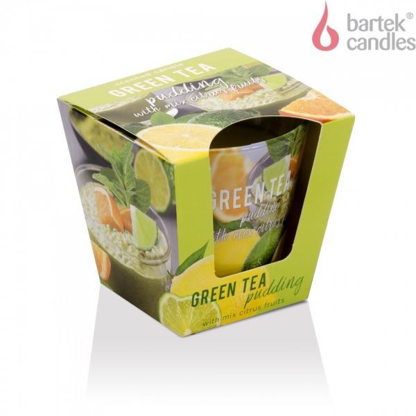 СВЕЩ ЧАША GREEN TEA PUDDING 115 ГР