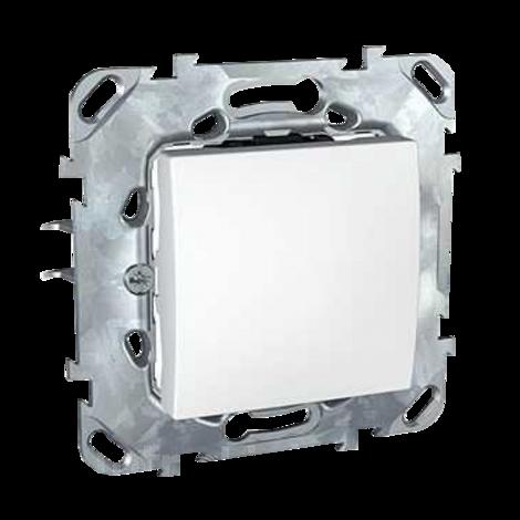 Unica B Ключ бутон бял механизъм
