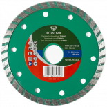 Диамантен диск за керамика Status 125 mm