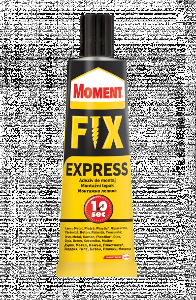 Монтажно лепило Moment ExpressFix600  75гр