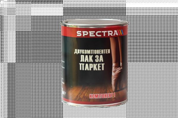 Паркетен лак Spectra 1л, двукомпонентен